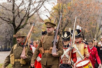 Remembrance Day Services - November 2015