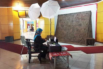 Photobooth setup di lokasi
