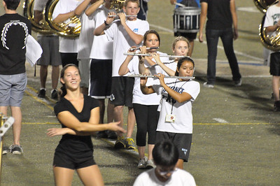 Sept 6, 2012 Marching Band Rehearsal