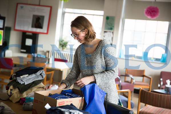 SUNY'S Got Your Back Clothing Drive — Hannah Embry