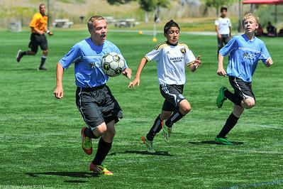 CSC Boys (U13) vs United FC at Pegasus Cup 6-28-2014