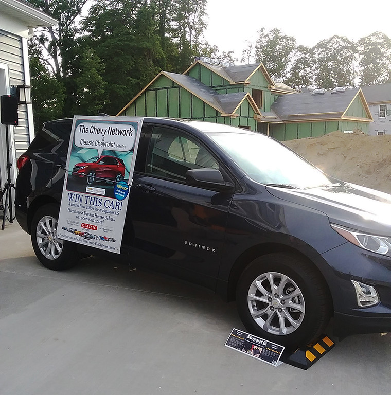 . An additional prize offered through the Dream House fundraiser is a 2018 Chevrolet Equinox from Classic Chevrolet in Mentor. (Jean Bonchak)