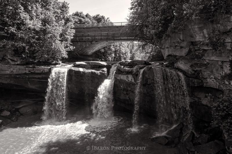 West Falls - Monochrome