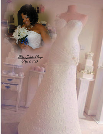 Mr. Derrick & Mrs. Jalisha Boyd   *Our Wedding Day*
