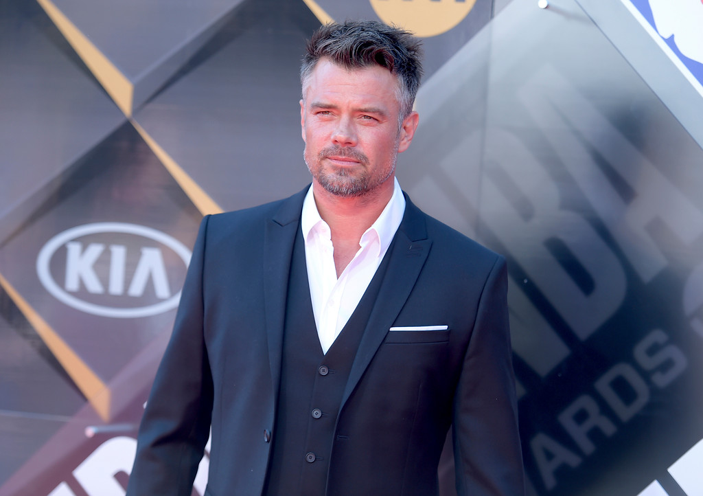 . Josh Duhamel arrives at the NBA Awards on Monday, June 25, 2018, at the Barker Hangar in Santa Monica, Calif. (Photo by Richard Shotwell/Invision/AP)