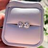 3.49ctw Old Mine Cushion Cut Diamond Pair GIA K VS1 10