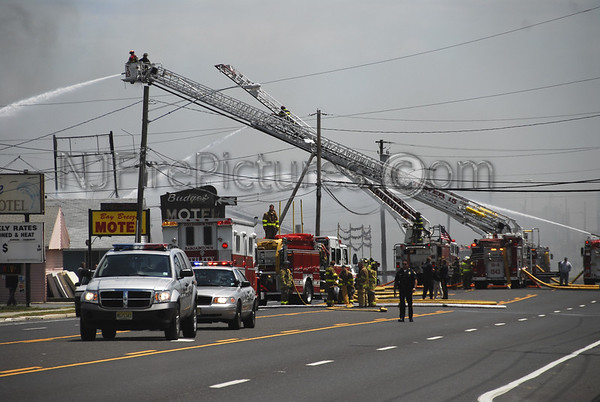 Egg Harbor Twp, NJ 2nd Alarm 7094 Black Horse Pike May 19, 2007