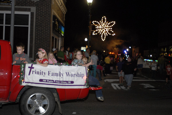 Fort Gibson Christmas Parade 2012