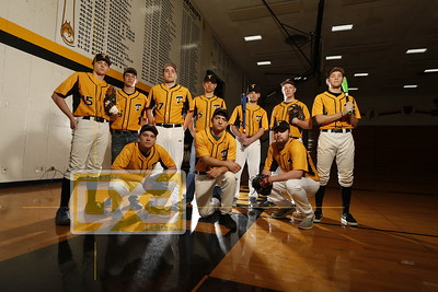 Tomah baseball seniors BB18
