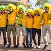 Plenty of cheering for the Socceroos | 2015 Asian Cup Final Match | Australia vs South Korea | Stadium Australia | January 31, 2015 in Sydney, Australia
