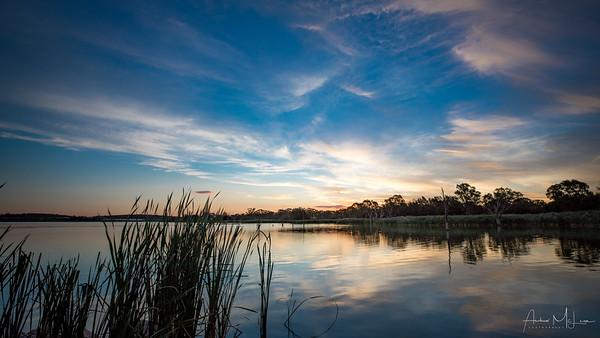 Lake Wyangan Sunset