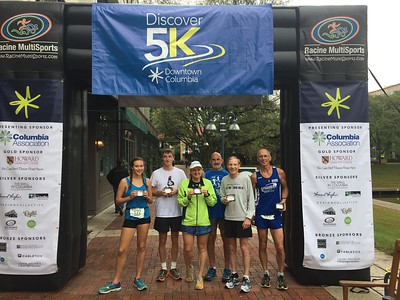 Striders at Discover Columbia 5k