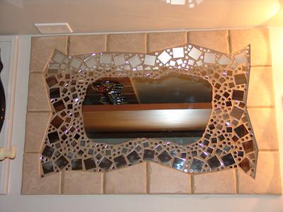 Bathroom Mirror Renovation