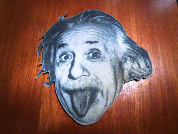 albert einstein mousepad