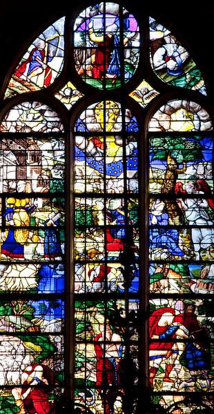 Rouen, Saint-Patrice Church, Abraham and Moses