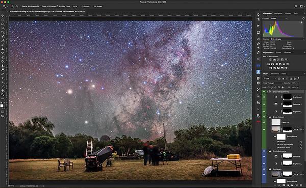 Shooting Stars Workshop Pix11