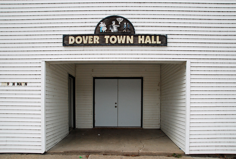 Entrance to Dover Town Hall