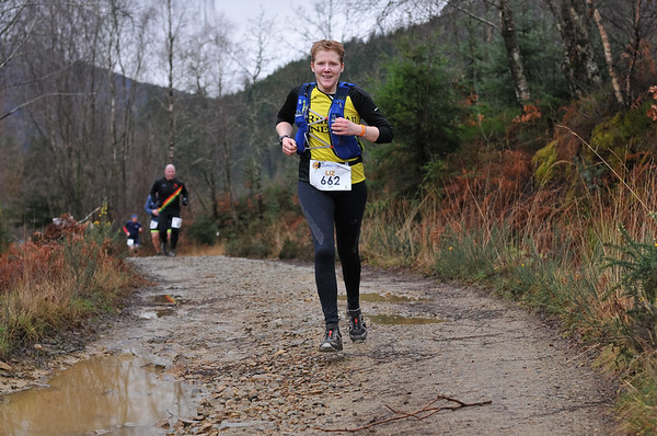 Winter Trail Marathon Wales - Runners at 5.8 Miles after 11:30