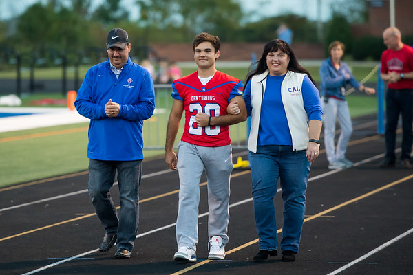 Senior Night oct 20 2017