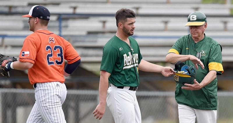 Belhaven University v. UT-Tyler and Coach Denson Career Celebration on Saturday, April 6, 2019.