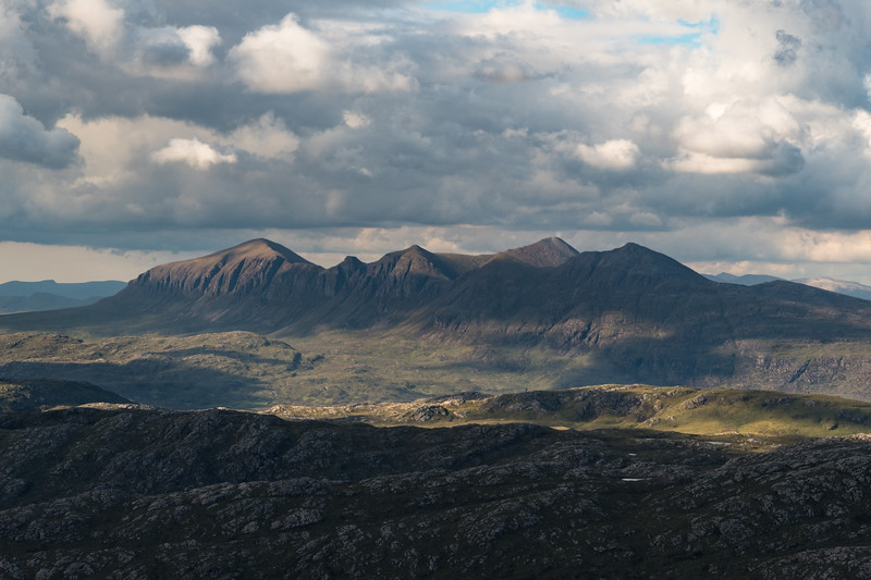Quinag seen from Suilven