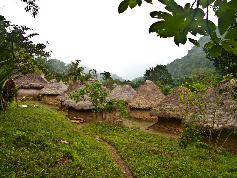 indigenous people living the same way as they did 200 years ago, hike to cuidad perdida