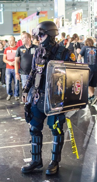SWAT guy @ Gamescom 2012