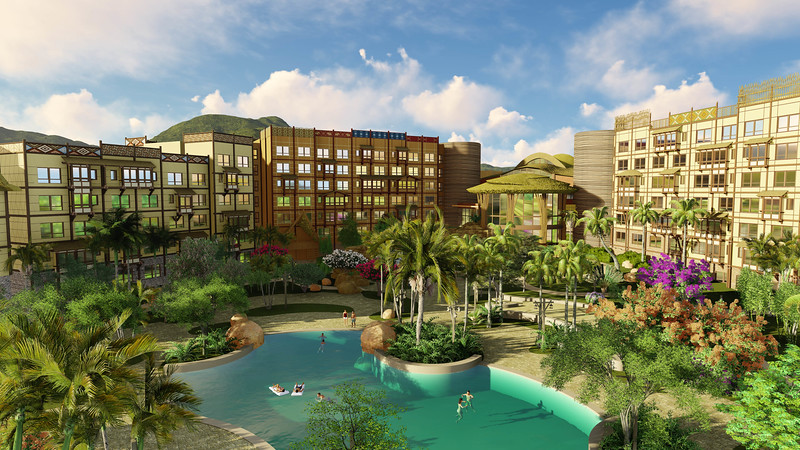 PICS: DISNEY EXPLORERS LODGE is exotic new hotel at Hong Kong Disneyland Resort starting April 30, 2017