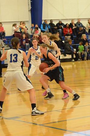 Varsity Girls Basketball Dec 29 vs St Marys