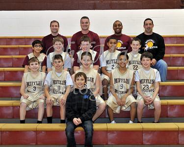 5th Grade Gold Mifflin Basketball