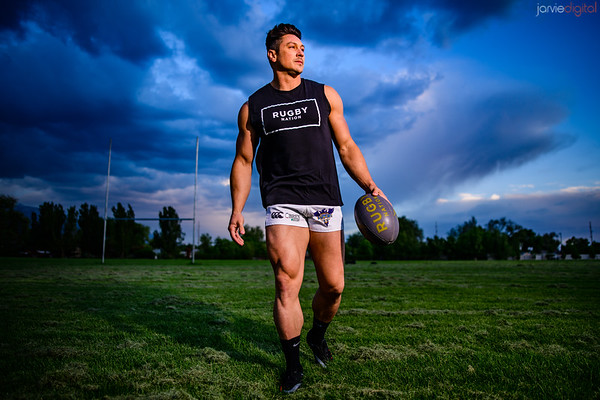 Rugby / Fitness Portraits