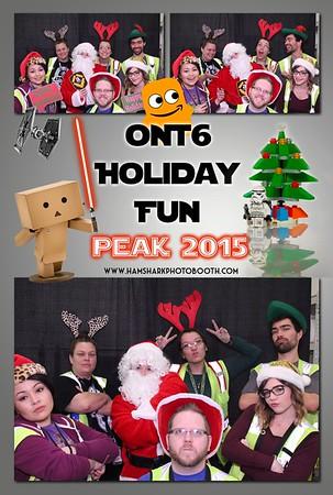 Amazon 2015 Holiday Peak Event