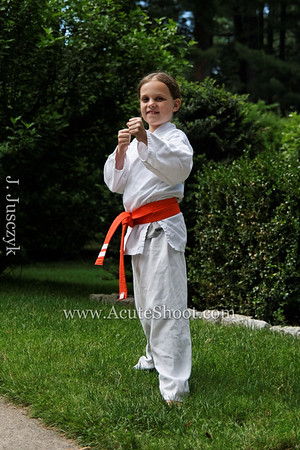Alice's karate class, July 2011