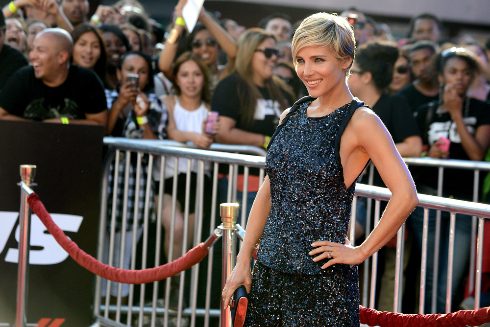 """. Elsa Pataky arrives at the LA Premiere of the \""""Fast & Furious 6\"""" at the Gibson Amphitheatre on Tuesday, May 21, 2013 in Universal City, Calif. (Photo by Jordan Strauss/Invision/AP)"""