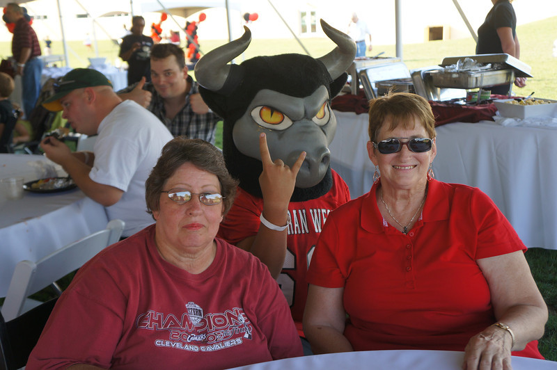 Lutheran-West-Longhorn-at-Unveiling-Bash-and-BBQ-at-Alumni-Field--2012-08-31-117.JPG