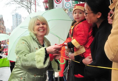 2017-01-29 Green Party at Chinese New Years Parade