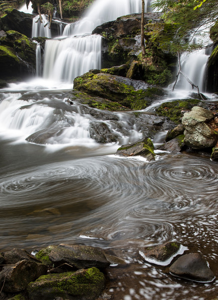 Falls and Swirls