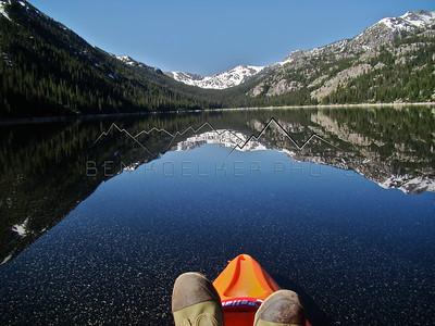 Reflection, Homestake Reservoir, CO.