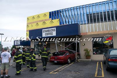 Massapequa F.D. Car vs. Building Hicksville Rd & Merrick Rd 7-20-12