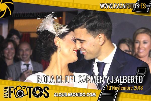 BODA M. DEL CARMEN Y J.ALBERTO - 10 NOVIEMBRE 2018