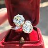 5.15ctw Old European Cut Diamond Toi et Moi Ring 5