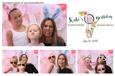 Kate's 1st Birthday
