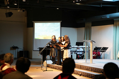 Pastor Tim Installation 2010