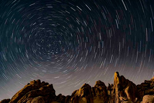 Joshua Tree National Park at Night, California