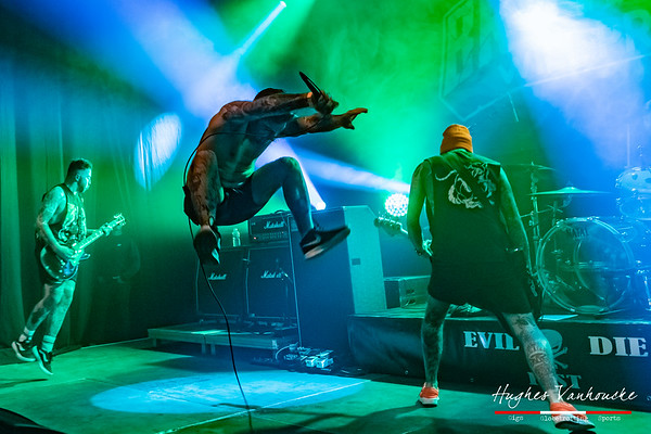 Brutality Will Prevail (WAL) @ Evil or Die Fest 2019 - Roeselare - Belgium/Bélgica