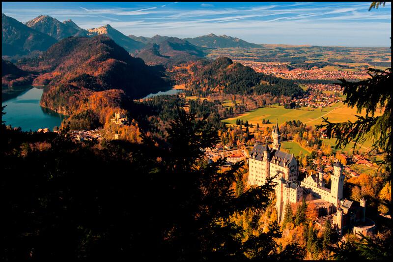 Neuschwanstein and Hohenschwangau Castles