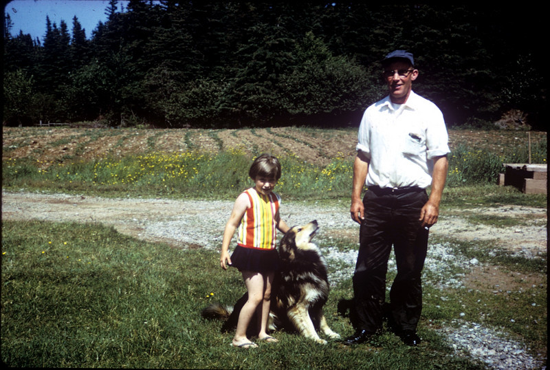 Me, Rin Tin Tin's father, and my father (posted Oct 2010)