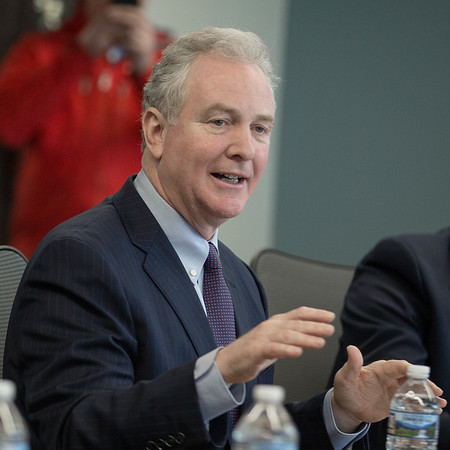 20190405 Senator Van Hollen Meeting with MoCo Council