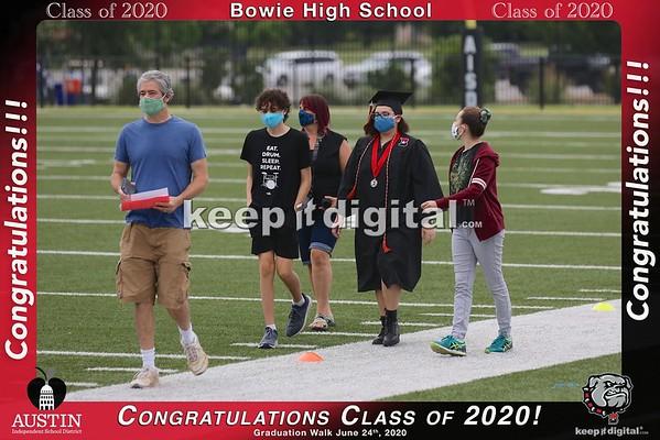 Bowie Grad Walk 2020
