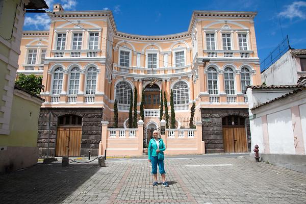 Mansion del Angel, hotel in Old Quito, Ecuador - May, 2017